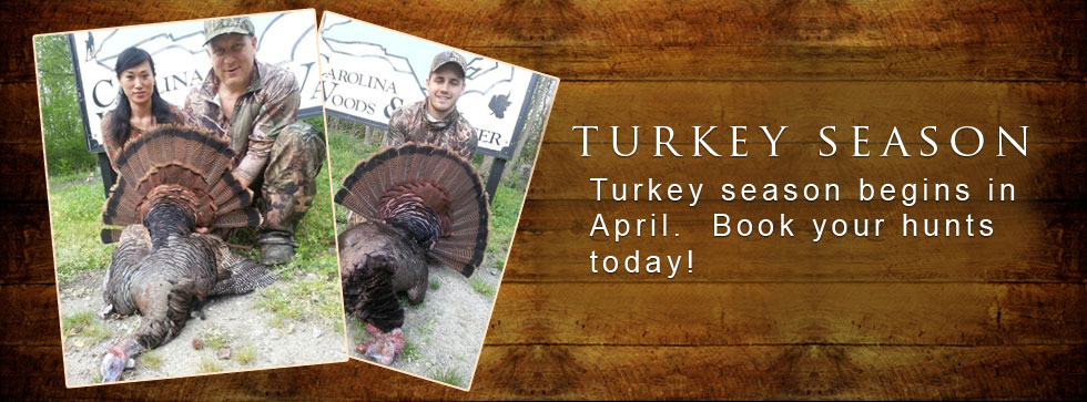nc turkey hunting guide