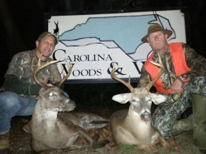 North Carolina deer hunting in October just doesn't get any better