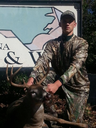 A proud NC deer hunter