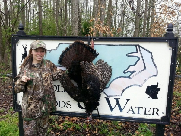 Kayla takes this NC turkey