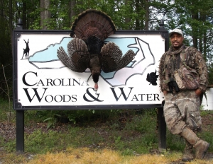 Shawn Grant - NC turkey hunt